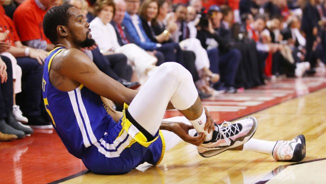 Warriors Star Kevin Durant Says He's Had Surgery on Ruptured Achilles