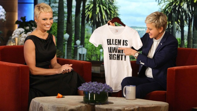 Pamela Anderson Explains Reason Behind Her Pixie Cut, Talks NYC Marathon