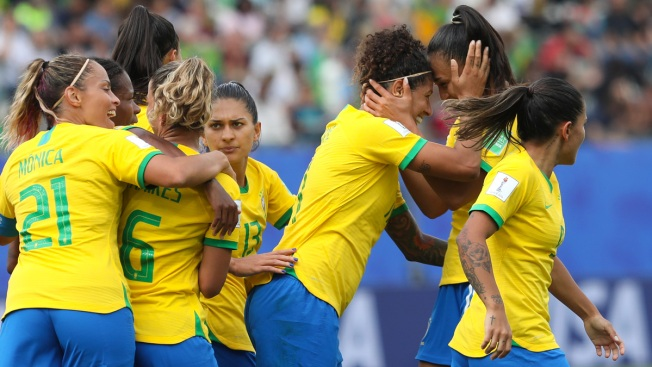 Cristiane's Hat Trick Gives Brazil 3-0 Win Over Jamaica