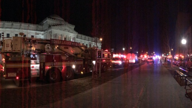 4 Hurt in High-Rise Fire on Eastern Parkway Near Brooklyn Museum: FDNY