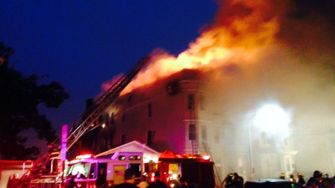 3-Alarm Blaze Tears Through New Jersey Apartment Building: Police