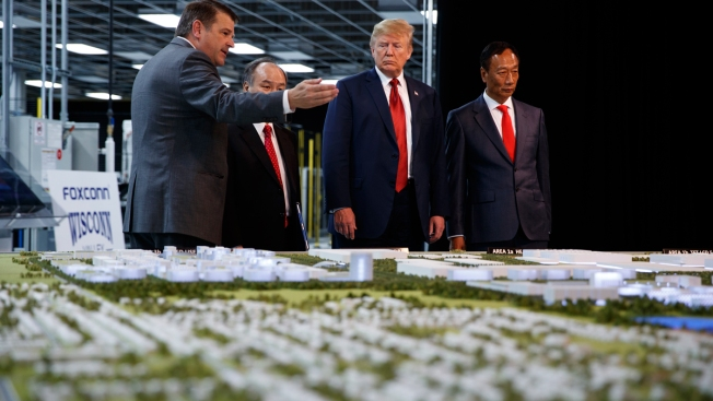 Foxconn Again Shifts Wisconsin Plan After Trump Intervenes