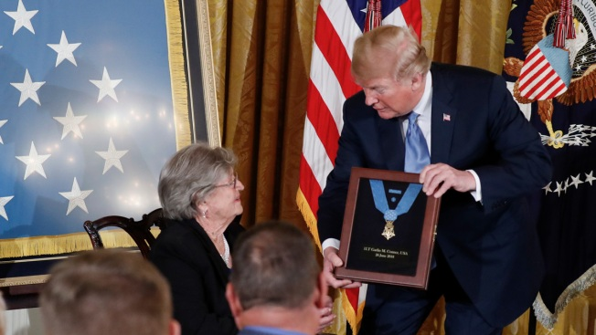 Trump Awards Posthumous Medal of Honor to WWII Army Officer