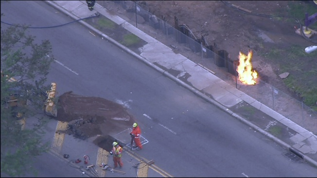 Crews Respond to Gas Main Break in New Jersey
