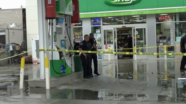 Man, 46, fatally shot while pumping gas at NYC gas station