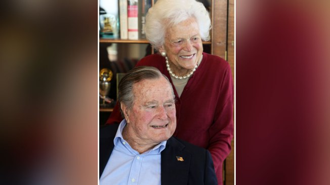 Former President George H.W. Bush Celebrates 93rd Birthday