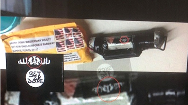 Pipe Bomb Sent to CNN Included 'Get 'er Done' ISIS Meme