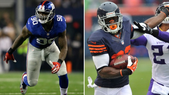 Giants Face Uphill Battle Against Chicago