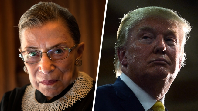 Justice Ginsburg Regrets 'Ill-Advised' Criticism of Trump