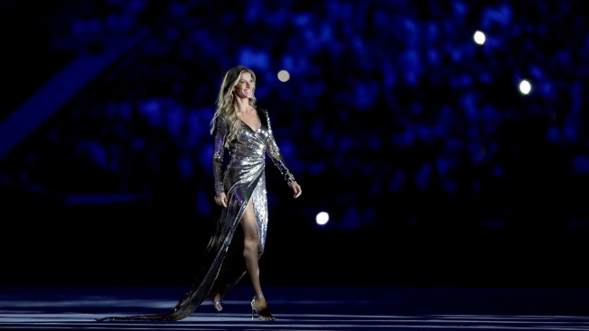 Gisele Bundchen Makes Head-Turning Strut at Opening Ceremony