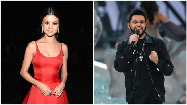 Selena Gomez and The Weeknd Spotted Kissing on Romantic Date Night