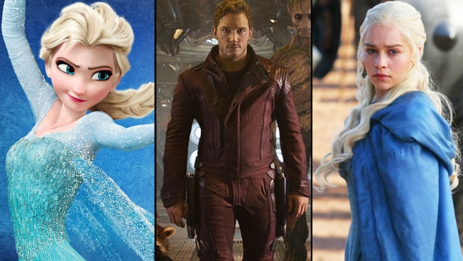 Halloween 2014 Goes Hollywood  Frozen   Game of Thrones  ...  sc 1 st  NBC New York & Halloween 2014 Goes Hollywood: