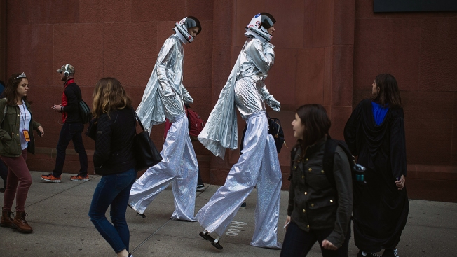 The Best Costumes At NYC's Village Halloween Parade
