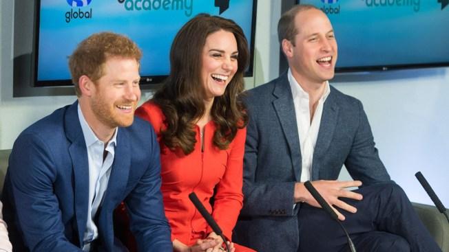 The Duchess of Cambridge praises 'brilliant' Prince Harry