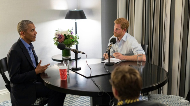 Former President Barack Obama Tells Prince Harry He Felt 'Serenity' Leaving White House