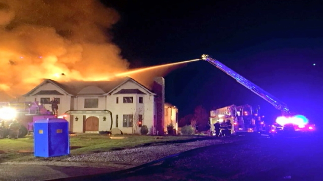 Fire Torches Mansion in New Jersey: Authorities