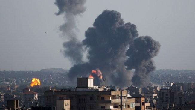 Under Heavy Rocket Fire, Israeli Reprisals Kill 6