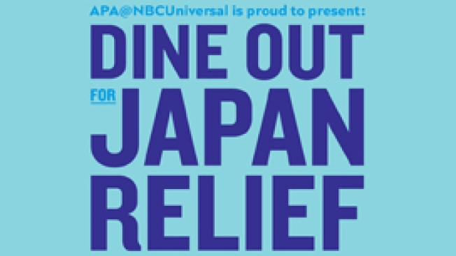 "APA@NBCUniversal Sponsors ""Dine Out for Japan Relief"""