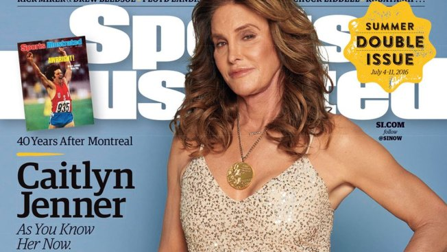 Caitlyn Jenner Appears on Sports Illustrated Cover, Revisits Olympic Gold 40 Years Later