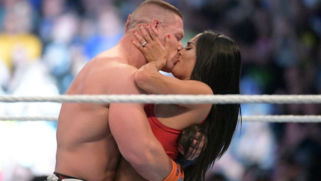 WWE Stars John Cena, Nikki Bella Get Engaged at WrestleMania 33