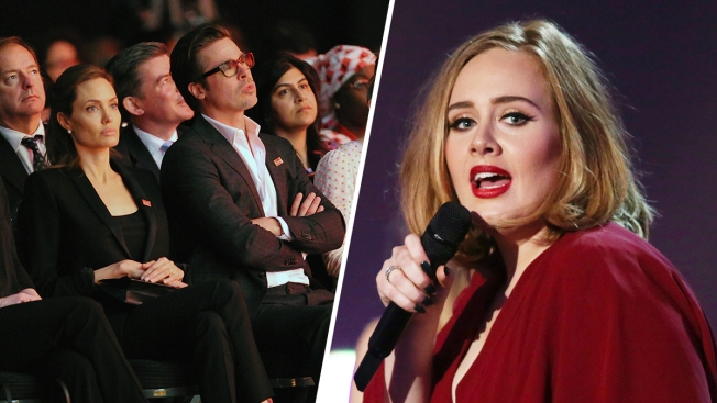 Adele Dedicates NYC Concert to Brad Pitt and Angelina Jolie Amid Divorce Drama