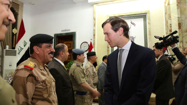Trump Son-in-Law Kushner Arrives in Iraq With Joint Chiefs Chairman on Official Visit