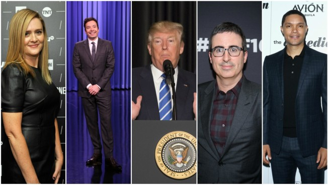 Late-Night Comedy Rushes Into the Trump Era