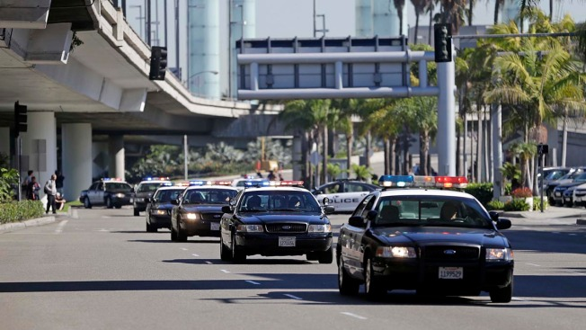 LAX Gunfire Came on Officers' Break: Officials