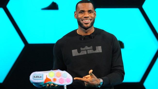 LeBron James Unveils New Nike Sneaker