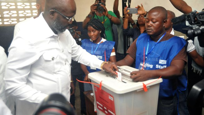 Ex-Soccer Star George Weah Elected Liberia President