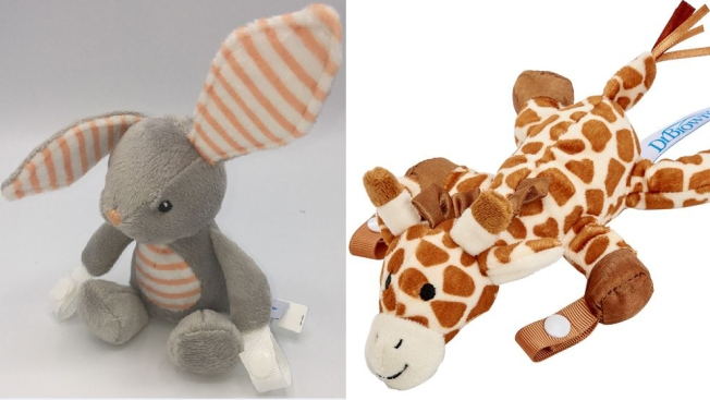 Animal-Shaped Pacifier and Teether Holders Recalled Over Choking Hazard