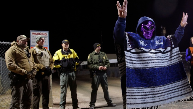 Area 51 Events Mostly Peaceful; Thousands in Nevada Desert