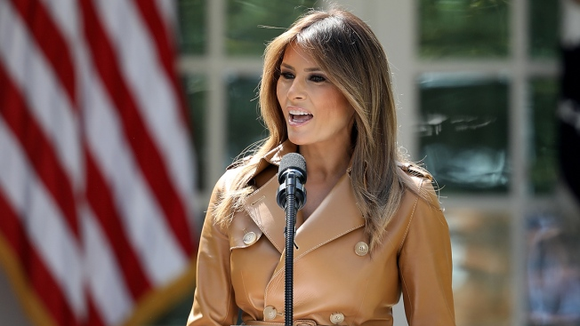 Melania Trump Returns to White House After Kidney Treatment