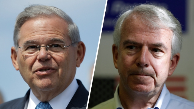 Menendez Calls Out Poll on Senate Race — So Does Another New Jersey Pollster