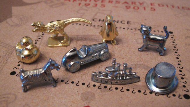 Monopoly replaces 3 classic game pieces with T. rex, rubber duck, penguin