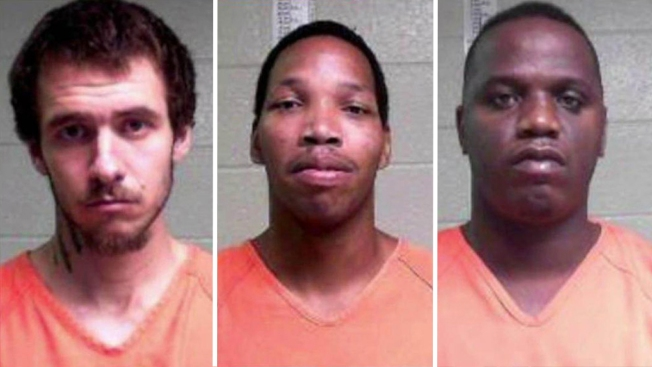Manhunt Underway for Three 'Dangerous' Escaped Inmates