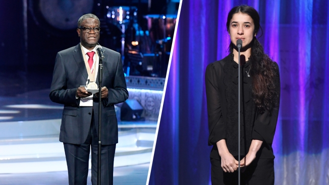Nobel Peace Prize Honors 2 in Sexual Violence Fight
