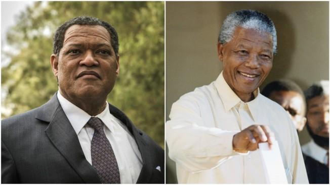 Laurence Fishburne Calls Nelson Mandela Role 'Life-Changing'