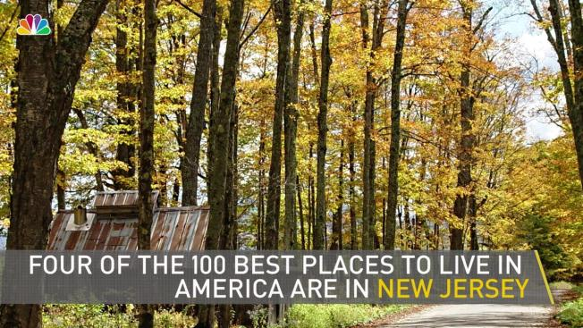 Four new jersey towns named among 100 best places to live for Best places to live us