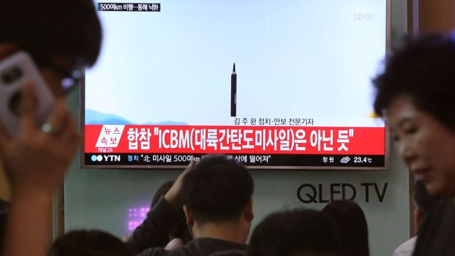 Korean leader observes test of anti-air guided weapon system