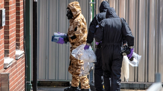 UK Nerve Agent Victim Says Perfume Contained Poison
