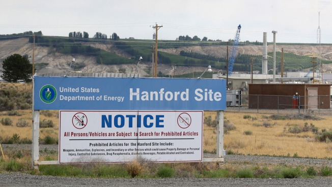 Collapse larger than thought at nuke waste site
