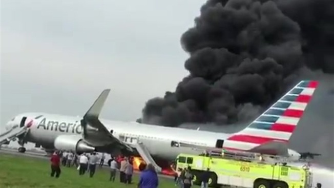 NTSB Details Chaos on Burning Jet in Chicago Last Fall