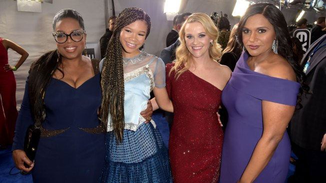 Oprah Plays Life Coach to 'Wrinkle in Time' Co-Stars