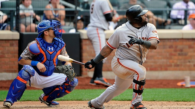 Mets Lose Series as Giants Rally in the 9th