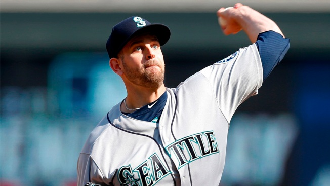 The Eagle Has Landed — on Pitcher James Paxton's Shoulder