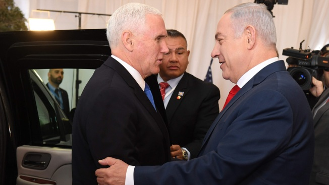 Pence to Israel: US Embassy Will Move to Jerusalem in 2019