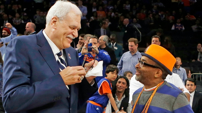 "Phil Jackson ""Coming on Board"" to Knicks, Carmelo Says"