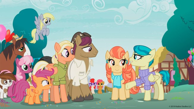 Same-Sex Couple Featured on 'My Little Pony' For First Time