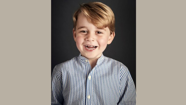 UK Palace Releases Prince George's 4th Birthday Portrait